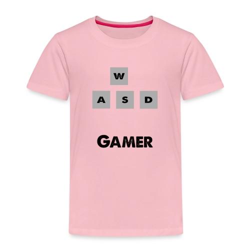 W, A, S, D Gamer - Kids' Premium T-Shirt