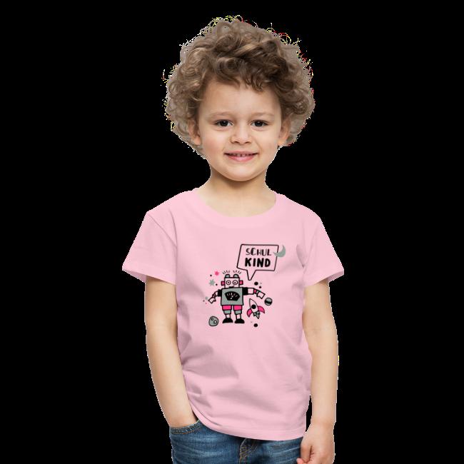 Schulkind - Robotershirt