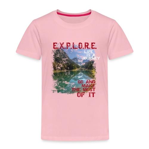 Explore - life is a journey - Kinder Premium T-Shirt