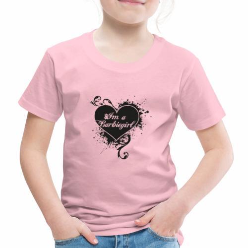 Im a Barbiegirl - Børne premium T-shirt