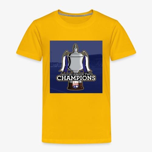 MFC Champions 2017/18 - Kids' Premium T-Shirt