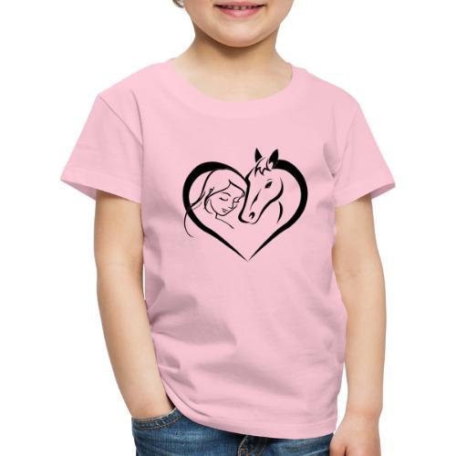 Pferdeliebe 2 - Kinder Premium T-Shirt