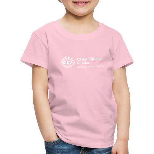 CISV Naantali - Lasten premium t-paita