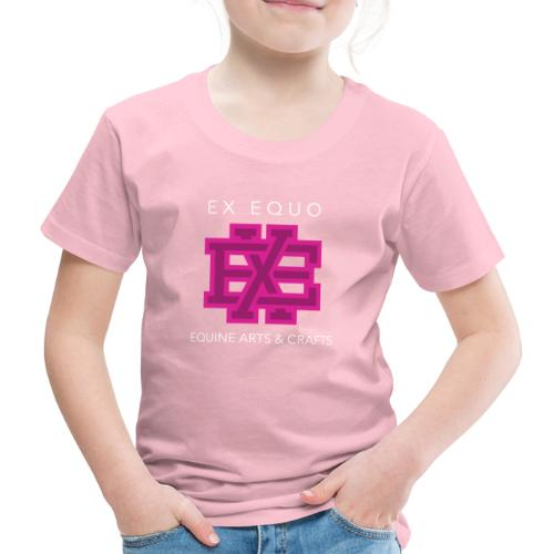 EX EQUO Arts and Crafts - Kinderen Premium T-shirt