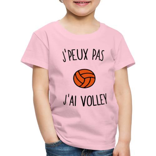 J'peux pas j'ai volley - T-shirt Premium Enfant