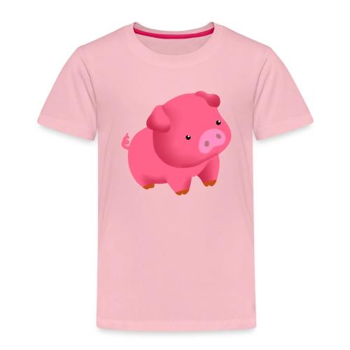 Camisa Cerdito - Camiseta premium niño