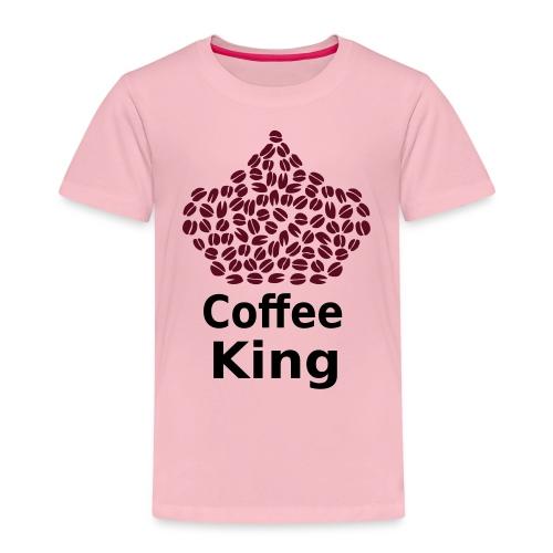 Coffee King T-shirt - Love Coffee T-shirt - Kids' Premium T-Shirt