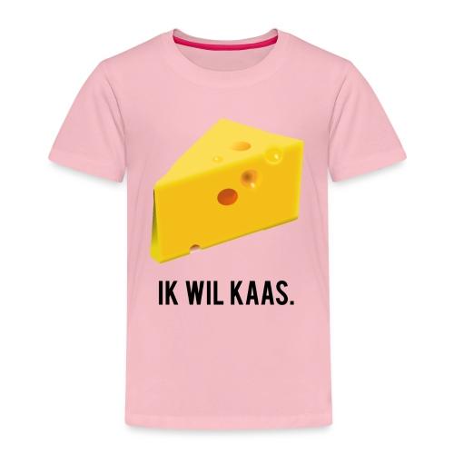 Ik wil kaas - Kinderen Premium T-shirt