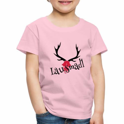 lausmadl hirsch - Kinder Premium T-Shirt