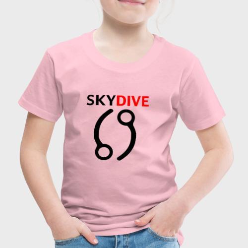 Skydive Pin 69 - Kinder Premium T-Shirt