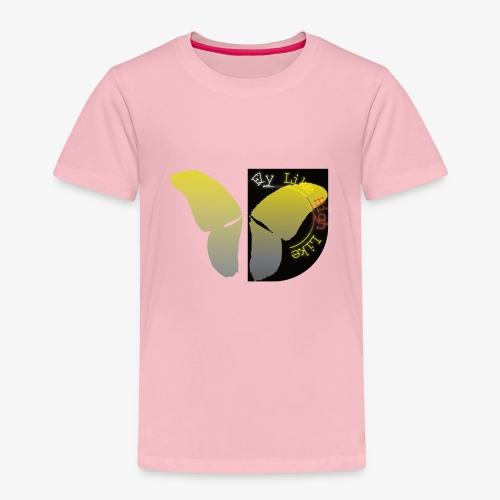 Butterfly high - Kinder Premium T-Shirt
