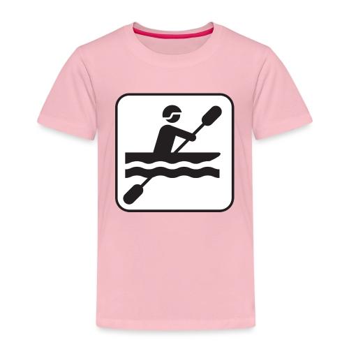 Icono piraguista - Camiseta premium niño