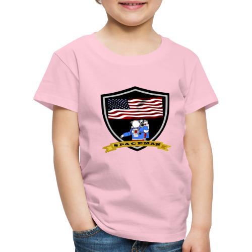 Spaceman Design - Kinder Premium T-Shirt
