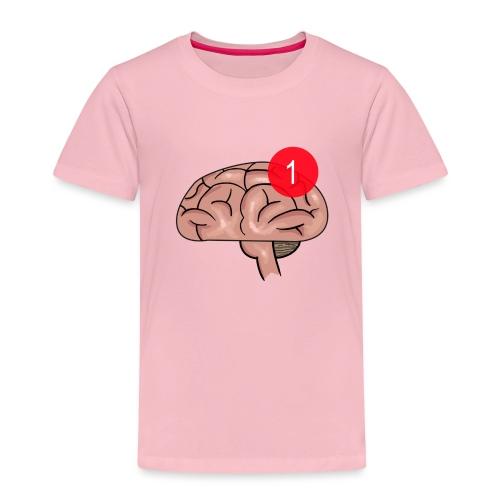 Notification on the brain - Premium T-skjorte for barn
