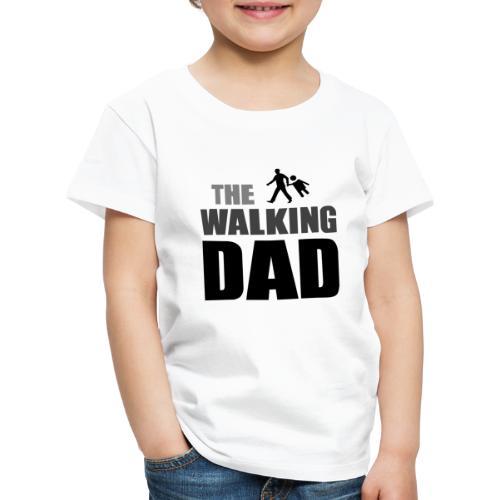 the walking dad auf dem Weg in die lustige Bar - Kinder Premium T-Shirt