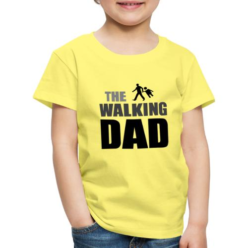 the walking dad auf dem Weg in die lustige Bar - Kinder Premium T-Shirt