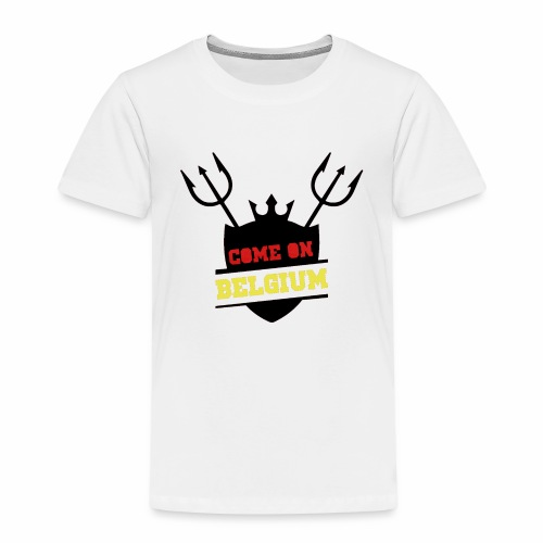 Come On Belgium - T-shirt Premium Enfant
