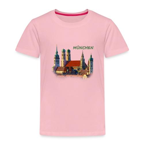München Frauenkirche - Kinder Premium T-Shirt