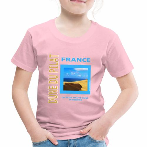 Dune du Pilat - Tshirt, tasses, masque ... - T-shirt Premium Enfant