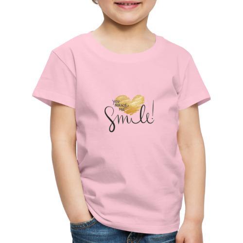 złote serce - Koszulka dziecięca Premium
