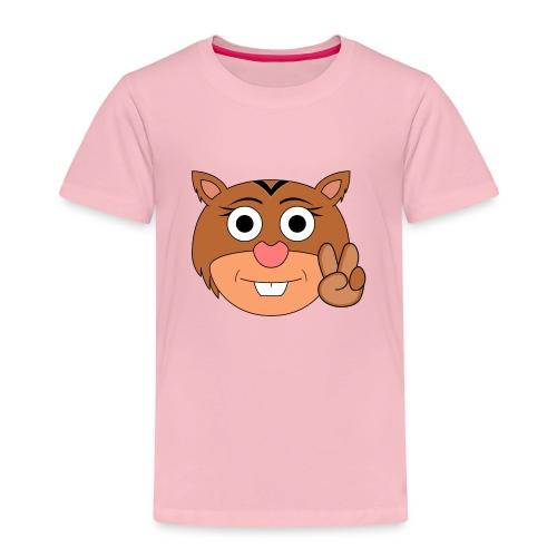 Ardilla Nina Mano - Camiseta premium niño