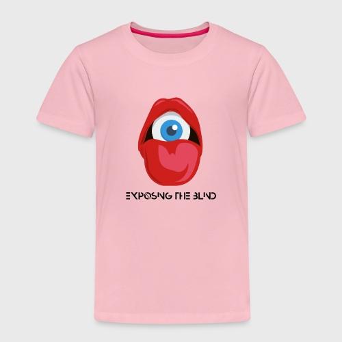 Exposing the blind Logo - Kids' Premium T-Shirt