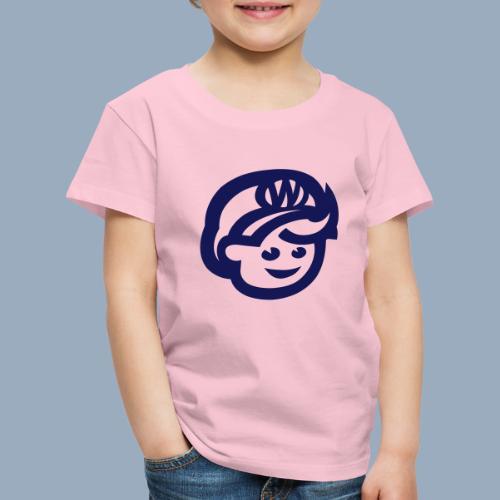 logo bb spreadshirt bb kopfonly - Kinder Premium T-Shirt