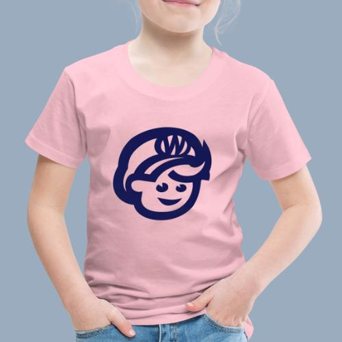 logo bb spreadshirt bb kopfonly - Kinder Premium T-Shirt