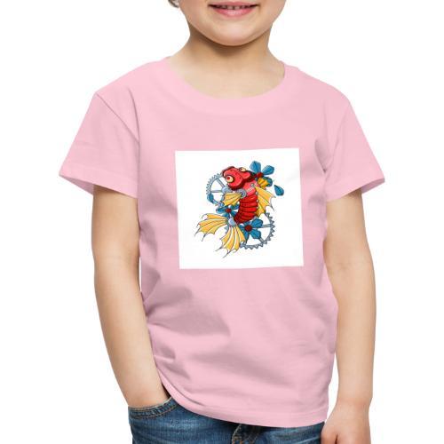 logo carpe mecanique - T-shirt Premium Enfant