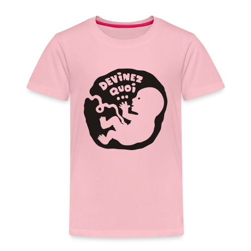 Devinez quoi… (enceinte) - T-shirt Premium Enfant