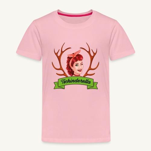 Original Tschinderella.com Logo - Kinder Premium T-Shirt