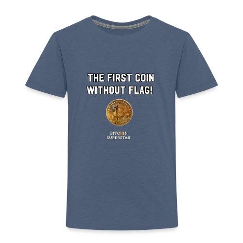 Coin with no flag - Maglietta Premium per bambini