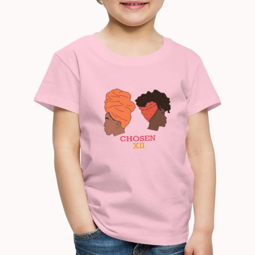 Headwrapped Princesses - Kinderen Premium T-shirt