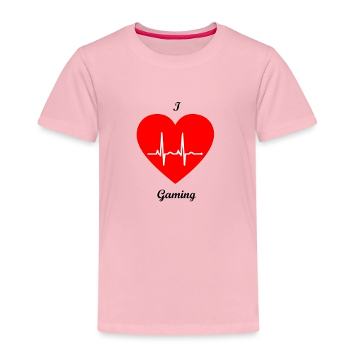Ilovegaming - Kinder Premium T-Shirt