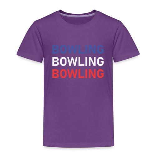 Bowling Bleu Blanc Rouge - T-shirt Premium Enfant