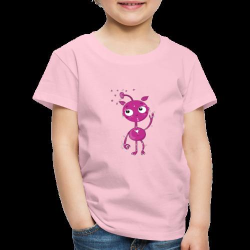 Kleines außerirdisches Mädchen - Kinder Premium T-Shirt