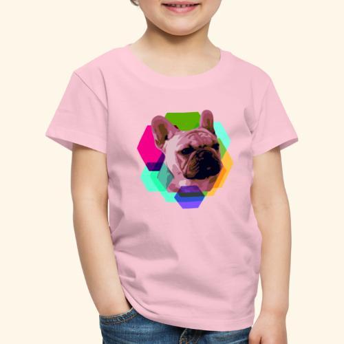 French Bulldog head - T-shirt Premium Enfant