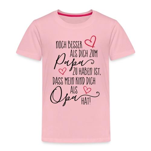 Dich als Opa - Kinder Premium T-Shirt