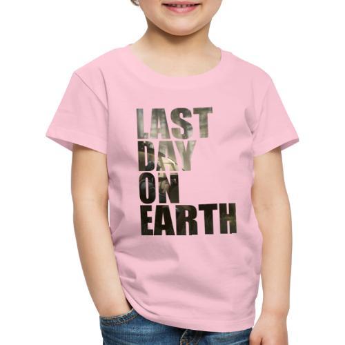 Último día en la tierra - Camiseta premium niño