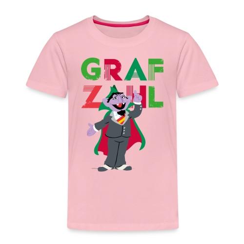 Sesamstraße Graf Zahl - Kinder Premium T-Shirt