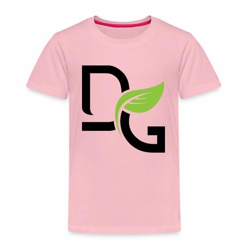 DrGreen Logo Symbol schwarz grün - Kinder Premium T-Shirt