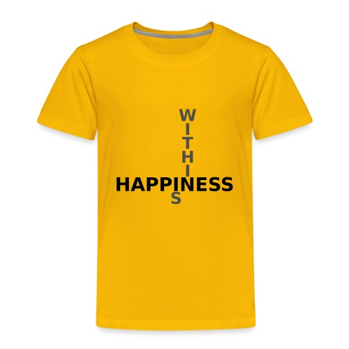 Happiness is Within - Kids' Premium T-Shirt