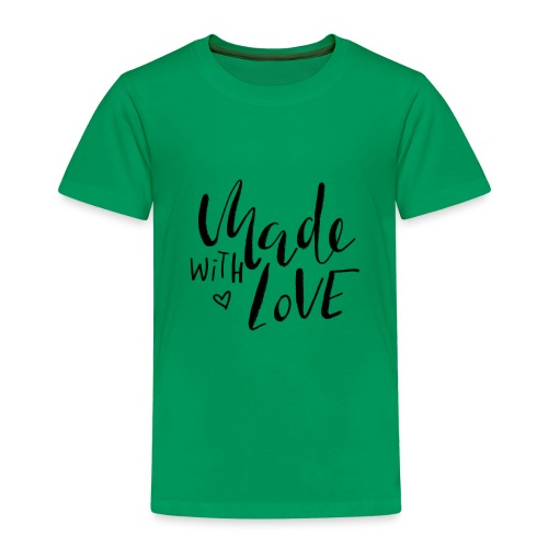 Made with Love - Kinder Premium T-Shirt