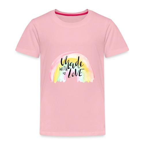 Made with Love Rainbow Baby - Kinder Premium T-Shirt