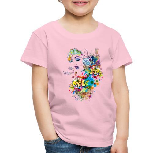 Lady singer - T-shirt Premium Enfant