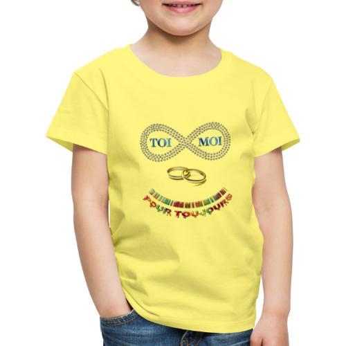 Toi et moi pour toujours - T-shirt Premium Enfant