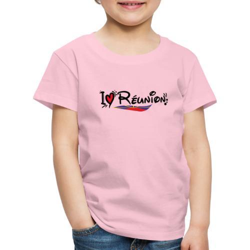 i love Réunion - T-shirt Premium Enfant