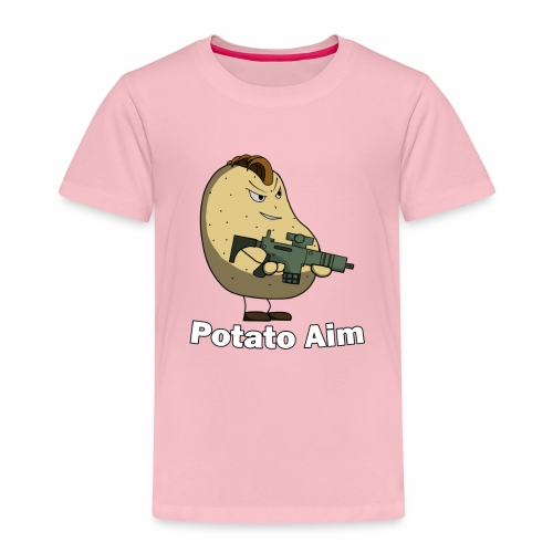 Mr Potato Aim - Kids' Premium T-Shirt
