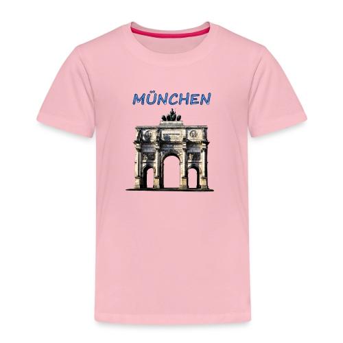 Münchnen Siegestor - Kinder Premium T-Shirt
