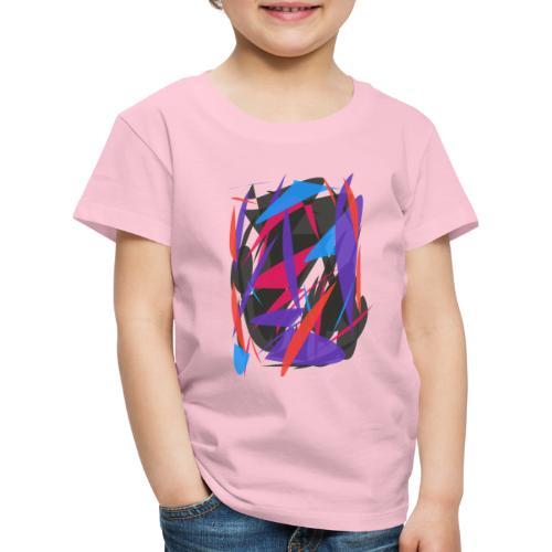 ABSTRAIT FORMES COLORS - T-shirt Premium Enfant